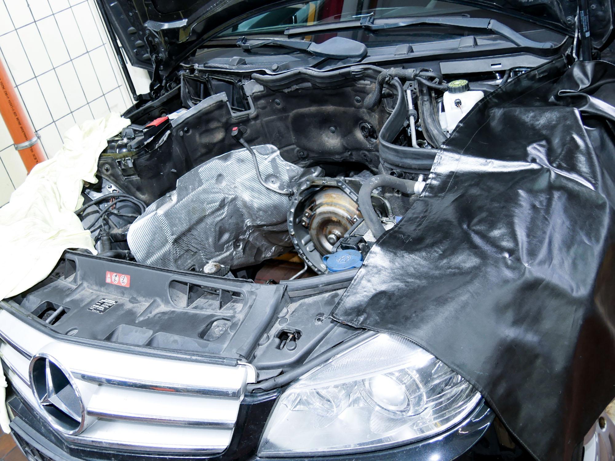 Motor Aus- und Einbau